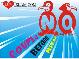 no couple before nikah