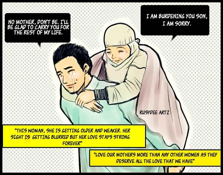 tips kehidupan , menjaga orang tua , bila dah tua siapa yang bakal menjaga kita , masa depan kita terletak pada Allah , kehidupan cabaran