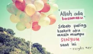 Senyumlah kerana Allah.. :)