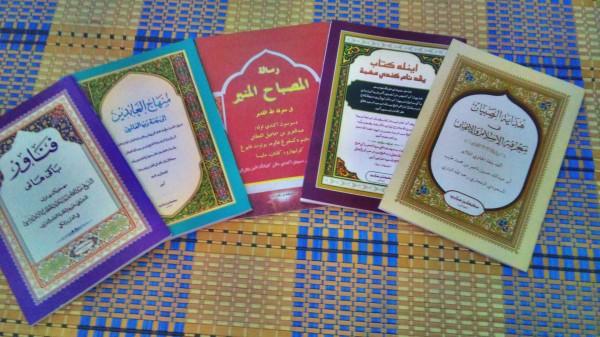 5 kitab yang dipelajari