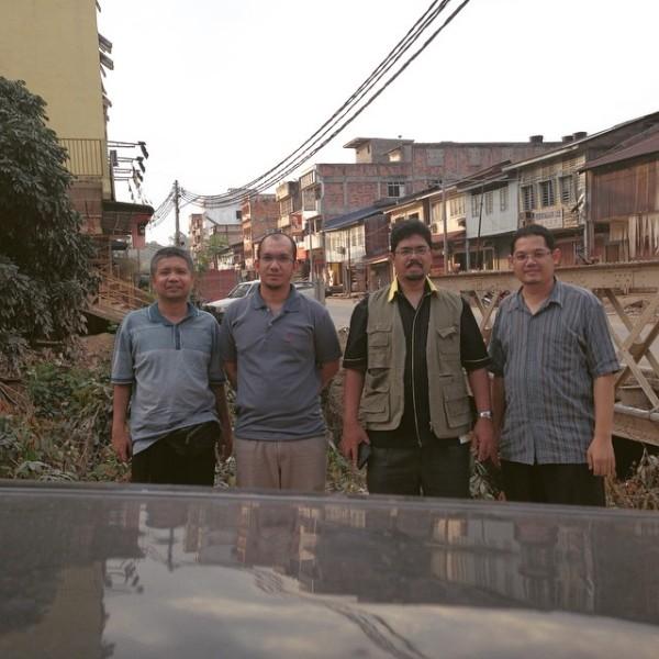 Ustaz Khairi, En. Azmi, Prof Dr. Zulkiple dan Dr. Ahmad Najaa' turut bersama